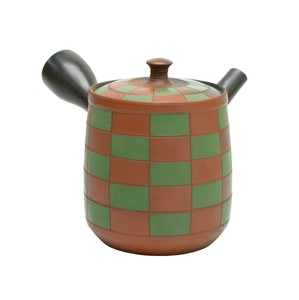 Pattern TOKONAME Ware Pattern Japanese Tea Pot Grid Pattern Japanese Tea Pot