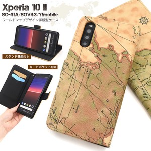 Smartphone Case Xperia Y!mobile Design Notebook Type Case