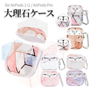 Airpods ケース 大理石風 エアーポッズ