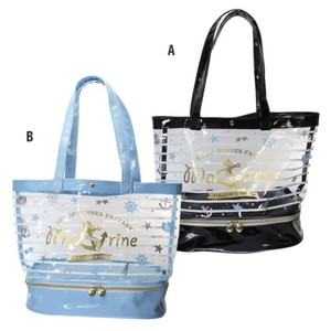Fastener Pocket Vinyl Tote Border