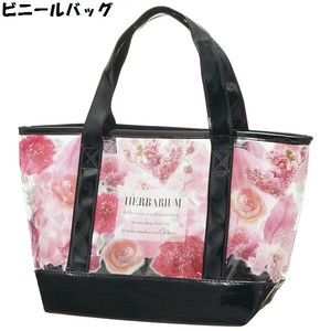 3WAY Vinyl Lunch Bag Pink