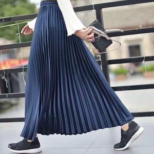 【2020新作】華やかなプリーツロングスカート 9color