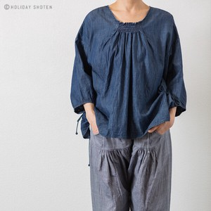 One Hand Pullover Light Ounce Denim