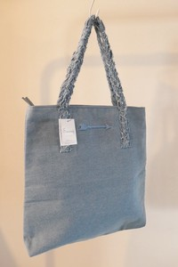 Mark Down Dhangarhi Embroidery Tote Bag Embroidery BLUE