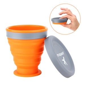 Folded Cup Bowl Silicone Plates & Utensil Food Product for Kids Cup Bowl Safety