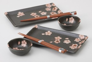 SAKURA dance Plate set