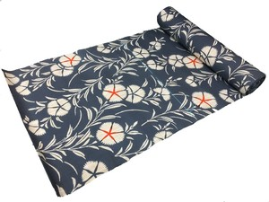 Japanese yukata fabric(pinks)(Special brown fabric)