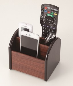 Rotation Wooden Remote Controller Rack