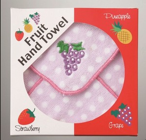 Embroidery Fruit Hand Towel