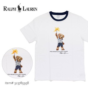 Flow POLO Boys T-shirt Bear Men's Short Sleeve