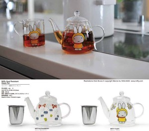 Miffy Heat-Resistant Glass Pot