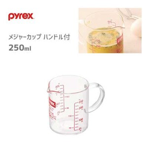 Measure Cup Handle Rex PEARL KINZOKU Measuring Cup Heat-Resistant Glass