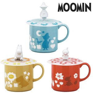 The Moomins Cup Cover Attached Mug 3 Types