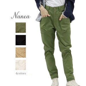 S/S Stretch Twill Slim Color Pants
