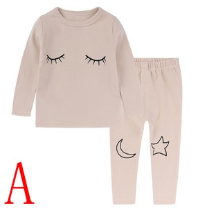 Boys Girl Long Sleeve Pajama