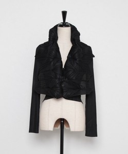 All Year Pleats Jagged Bolero