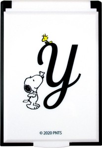 Tease Snoopy Initial Mirror