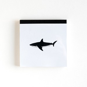 Animal Memo pad Square Shark