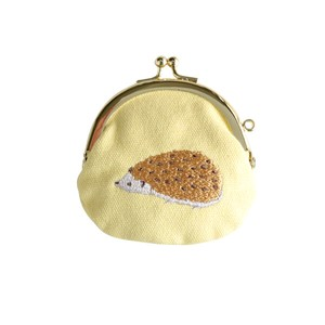 Coin Purse Pouch Hedgehog