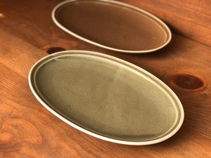 type Oval Plate Olive