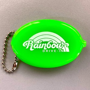 Rainbow Drive Coin Case Green