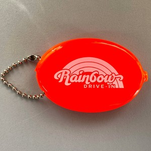 Rainbow Drive Coin Case Orange