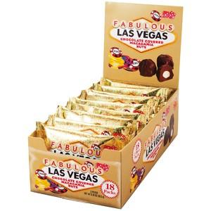 ラスベガス マカデミアナッツチョコレート ミニ 18袋