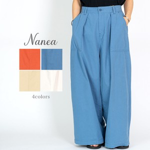 S/S Cotton Tuck Pants