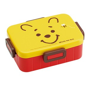 Winnie The Pooh Face 4 Pcs Bento (Lunch Boxes)