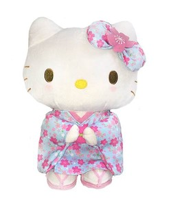 Hello Kitty Sakura Kimono Light Blue