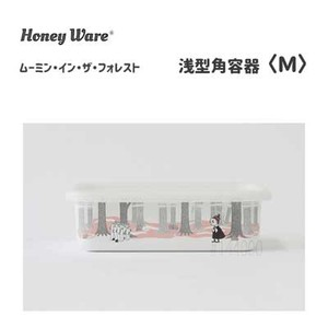 Shallow Type Food Container The Moomins Rest Fuji Enamel