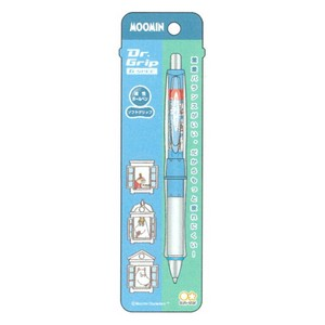 The Moomins Doctor Grip pen Blue Design Collection