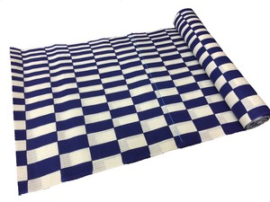 Japanese yukata fabric(checkered pattern)