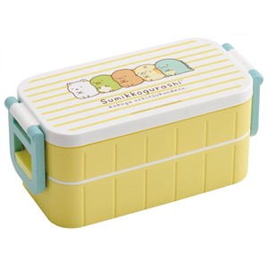 Lunch Box 2 Steps 15cm Chopstick Attached