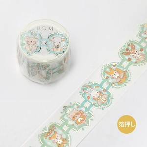 [BGM] Washi Tape  / Masking Tape Foil Stamping Lace Lace Animals