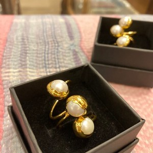 "Mix Pearl Ring ""2020 New Item"""