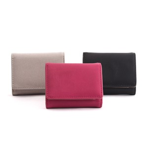 Big Push Leather Three Wallet