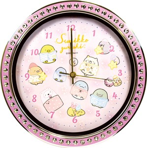 Sumikko gurashi Jewelry Wall Clock Purple