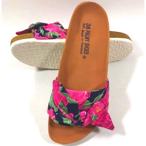Hawaii Ladies Sandal Hibiscus Pink