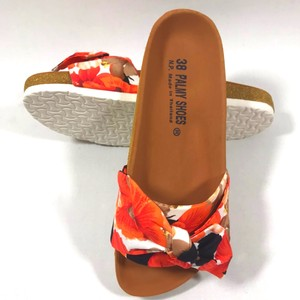 Hawaii Ladies Sandal Hibiscus White