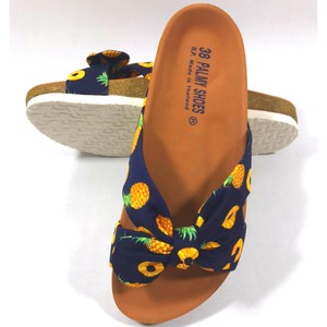 Hawaii Ladies Sandal Pineapple Navy