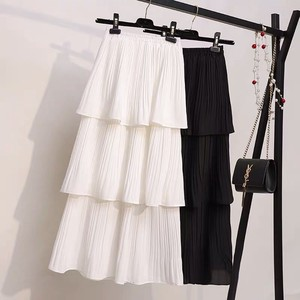 Ladies S/S Chiffon Skirt