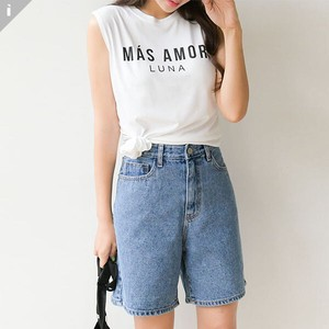 Pudding Fit Short Sleeve Top Long T-shirt