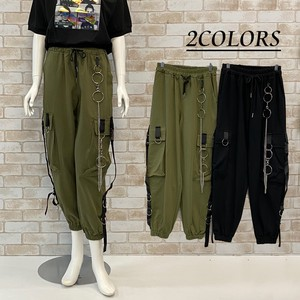 S/S Chain Attached Cargo Pants Bottom
