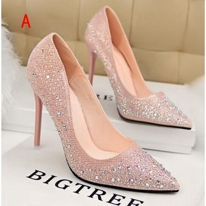 Ladies Pumps Heel Shoe