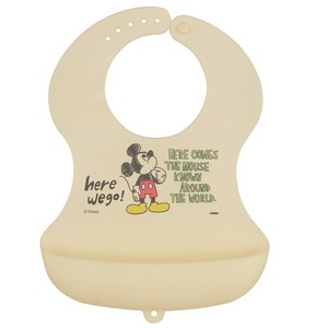 Baby Product Silicone Baby Apron Mick Sketch