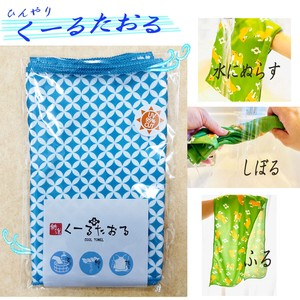 Cool Towel Cloisonne Countermeasure Countermeasure Towel