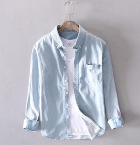 Dress Shirt S/S Thin Leisurely Casual Blouse Wear