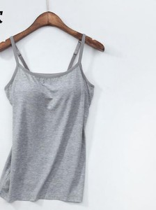 S/S Ladies Pad Vest Undergarment Attached Home