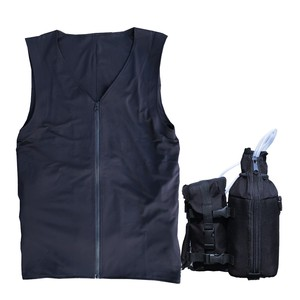 Countermeasure Human Air conditioner Cooling Vest Undergarment Set